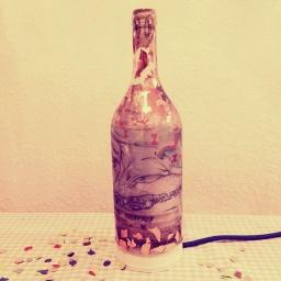 *Lampenfieber* oder Weinflasche goes Tischlampe